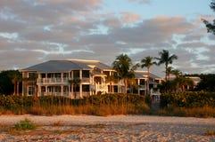 Oceanfront Beach Condominium Stock Image