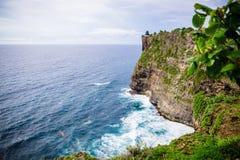 Oceanfront i Bali Royaltyfri Foto