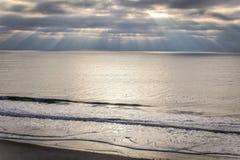 Oceanfrontsikt Fotografering för Bildbyråer