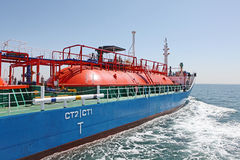 Oceangående fraktbåtar arkivbild