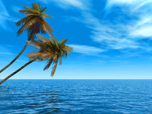 Oceanië royalty-vrije illustratie