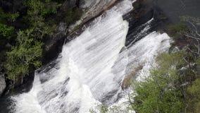 Oceania Falls Tight stock footage