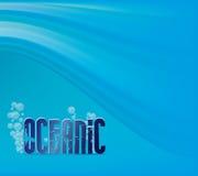 oceanic Royaltyfri Illustrationer
