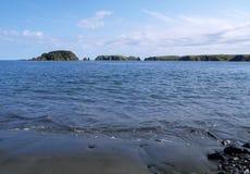 Oceanic bay Stock Photography