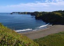 Oceanic coast Stock Images