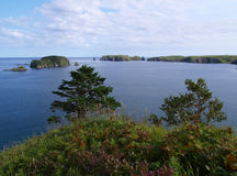 Oceanic landscape Stock Photo