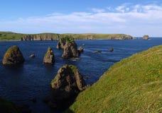 Oceanic landschap Stock Afbeeldingen