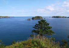 Oceanic landschap Royalty-vrije Stock Foto