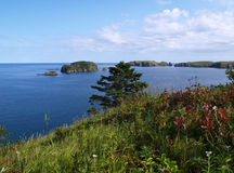 Oceanic landschap Stock Afbeelding