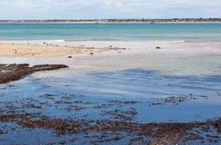 Oceano Índico em Mandurah Austrália ocidental fotos de stock
