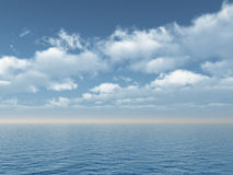 Oceano Fotografia de Stock Royalty Free