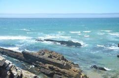 Oceano Atlântico azul!! Fotos de Stock Royalty Free