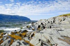 Oceano Atlantico in Terranova fotografia stock libera da diritti