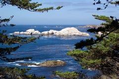 Oceano azul Fotografia de Stock Royalty Free