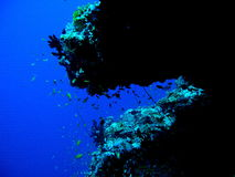 Oceano azul Imagens de Stock Royalty Free