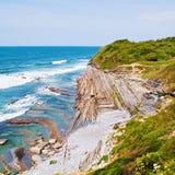 Oceano azul Foto de Stock Royalty Free