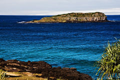 Oceano azul imagem de stock royalty free