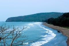 Oceano blu fotografie stock libere da diritti