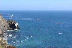 Oceano blu di turbine Fotografia Stock Libera da Diritti