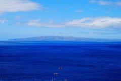 Oceano blu Maui, Hawai Immagine Stock