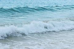 Oceano bonito do azul da praia da areia da mola do verão do mar da praia tropical Imagens de Stock