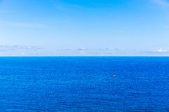 Oceano calmo Imagens de Stock Royalty Free