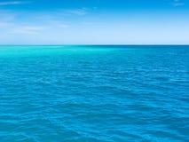 Oceano calmo de South Pacific Fotografia de Stock Royalty Free
