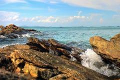 Oceano claro Fotografia de Stock