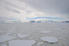 Oceano congelado Foto de Stock Royalty Free