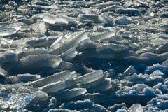 Oceano congelato Fotografie Stock