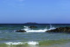 Oceano/Cornovaglia della Cornovaglia Immagini Stock Libere da Diritti