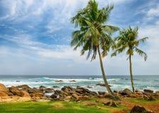 Oceano da costa Imagem de Stock Royalty Free