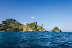 Oceano da ilha Fotos de Stock