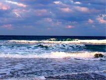 Oceano da praia de Jensen fotos de stock