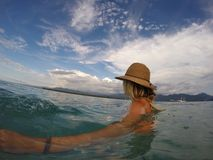 Oceano da vida de Bali fotografia de stock royalty free