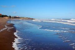Oceano de Argentina imagem de stock