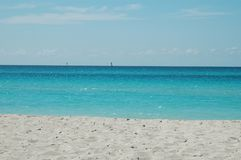 Oceano de Cuba Fotografia de Stock Royalty Free