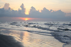 Oceano de Texas fotografia de stock