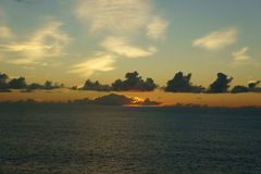 Oceano del Pacifico Meridionale Immagini Stock Libere da Diritti