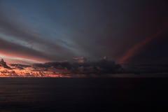 Oceano del Pacifico Meridionale Fotografie Stock Libere da Diritti