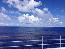 Oceano del Pacifico Meridionale Immagini Stock