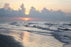 Oceano del Texas Fotografia Stock