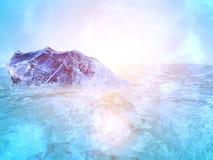 Oceano dell'iceberg Fotografia Stock Libera da Diritti