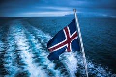 Oceano dell'Islanda Immagini Stock