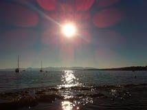 Oceano della Francia Fotografia Stock