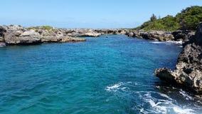 Oceano della Giamaica Fotografie Stock Libere da Diritti