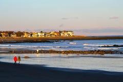 Oceano della Nuova Inghilterra fotografia stock