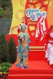 Oceano della sosta. Concerto durante il nuovo anno cinese Fotografia Stock Libera da Diritti
