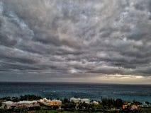 Oceano della tempesta Immagine Stock