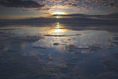 Oceano di Acric da aria Fotografie Stock